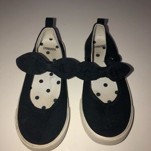 Gymboree blue sneakers Mary janes shoes 13 bows